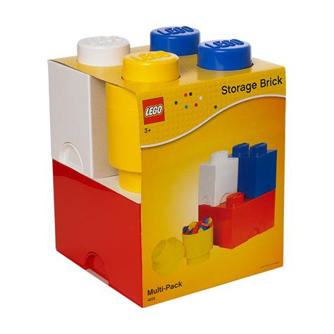 Lego Brick Now Carries Data by Storage Brick Multipack Set Of 4 By Lego