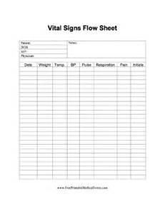 flow sheet template vital sign flow sheet template pictures to pin on