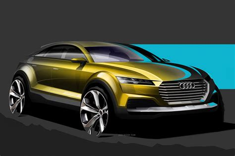 future audi audi q4 suv concept previewed before beijing motor show