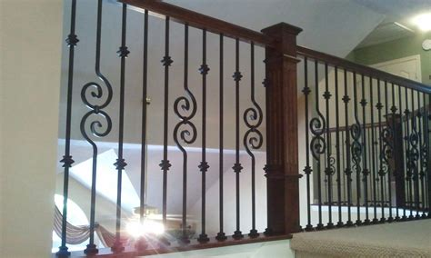 stair iron balusters wrought iron balusters 6 fabulous