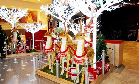 woodgrove shopping centre christmas decoration installations