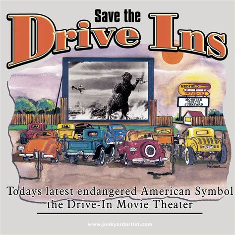 Backyard Burger History Drive In T Shirt Rat Rod Theater Car