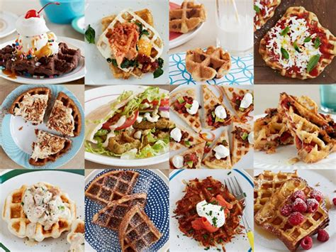 Summer Lunch Menu Ideas For Entertaining - classic and creative waffle recipes recipes dinners and easy meal ideas food network