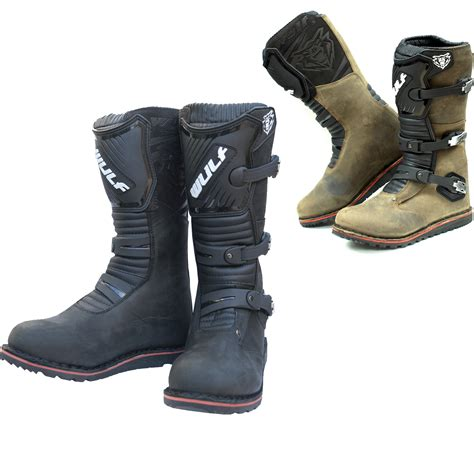 wulf motocross boots wulf trials boots off road mx enduro leather