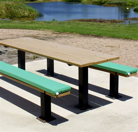 picnic bench cushion gallery stock photos ptc outdoors llc