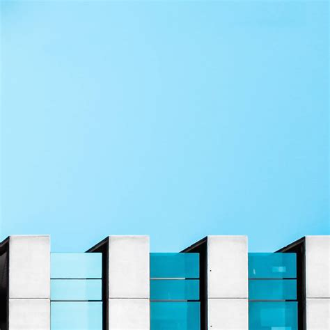 minimalism architecture minimalist blue architectural photographs fubiz media
