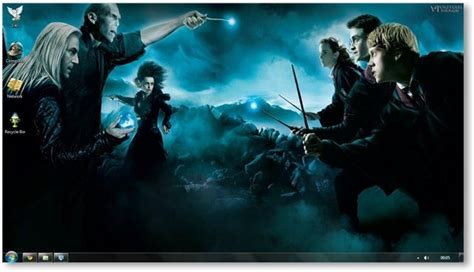 download themes for hp desktop harry potter and the deathly hallows theme for windows 7