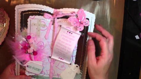 handmade christening cards   YouTube