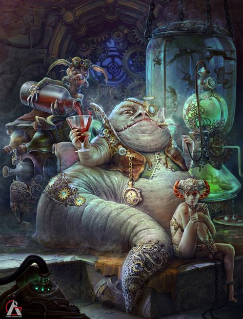jabba the hutte artstation jabba the hutt war re imagine contest