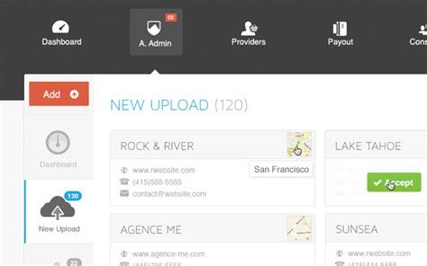 ui pattern navigation exploring the current user experience trends for admin