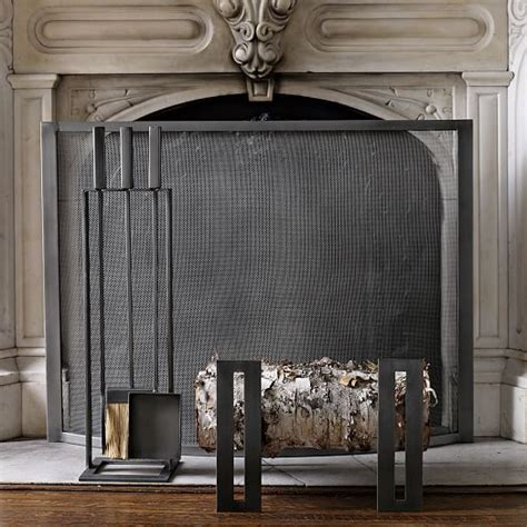 Andirons Fireplace by Fireplace Andirons West Elm