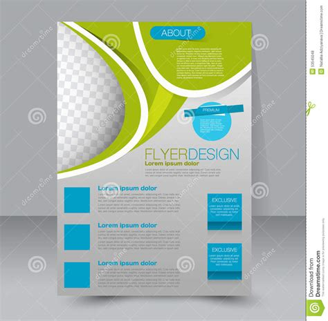 Flyer Template Business Brochure Editable A4 Poster Stock Vector Image 53545048 Free Editable Flyer Templates