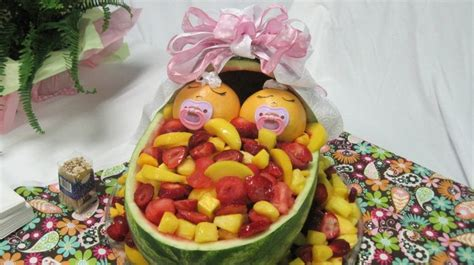 Baby Shower Fruit Basket Ideas by Baby Shower Fruit Basket Ideas