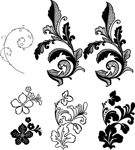 free vector pattern library free flower vector free download free clip art free clip