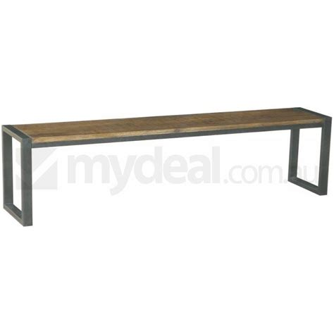 bench omaha omaha raw rustic dining bench natural mango wood buy