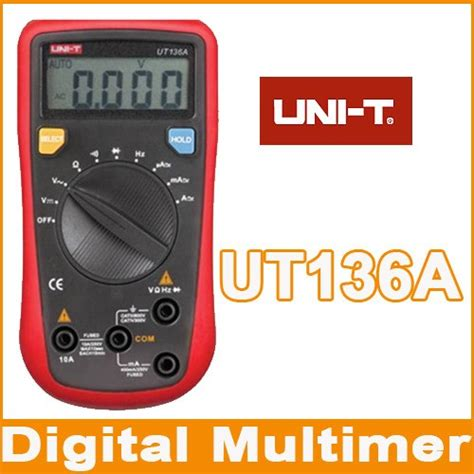 Uni T Ut136a Digital Multimeter Auto Range Ac Dc uni t ut136a auto range multimeter