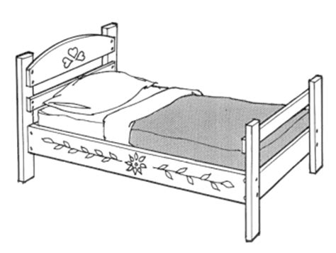 drawing of bed kids furniture plans designs and projects you can build