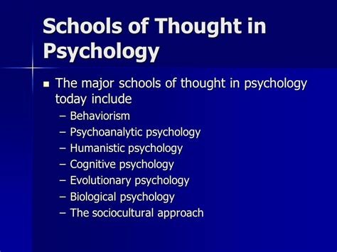 Psychology And The School week 1 introduction to psychology ppt