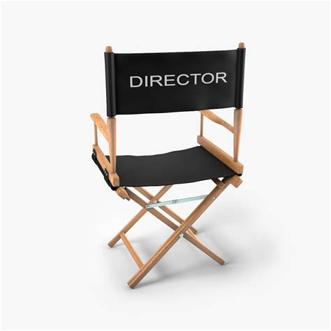 Director Chair by 3ds Max Director Chair