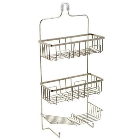wilmont the shower caddy in brushed nickel