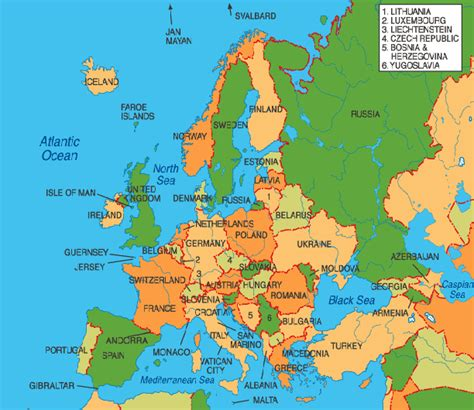 Europe Travel Map by Blagojevich Europe Travel Map