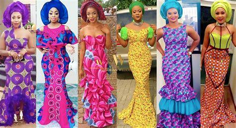 amazing aso ebi gown ankara ankara archives nigerian wedding