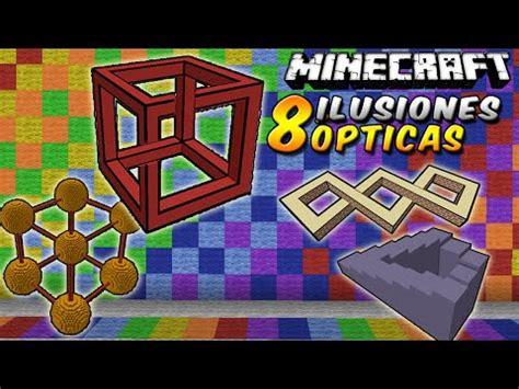 ilusiones opticas minecraft minecraft genera al legendario herobrine sin mods con