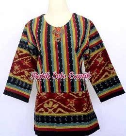 Dress Batik Tulis Kuning 01 kain tenun baju kerja batik