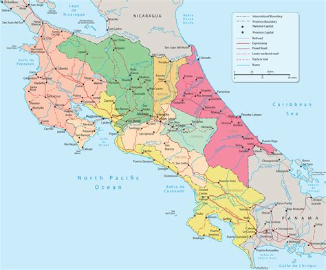 maps of costa rica maps update 19691694 costa rica travel maps travel map