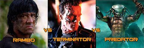 film rambo vs predator rambo vs terminator vs predator video games i would love