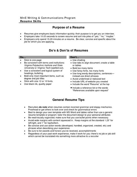 resume template objective the photo objective on a resume images best resume