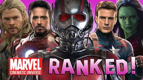 film marvel youtube 12 marvel cinematic universe movies ranked youtube