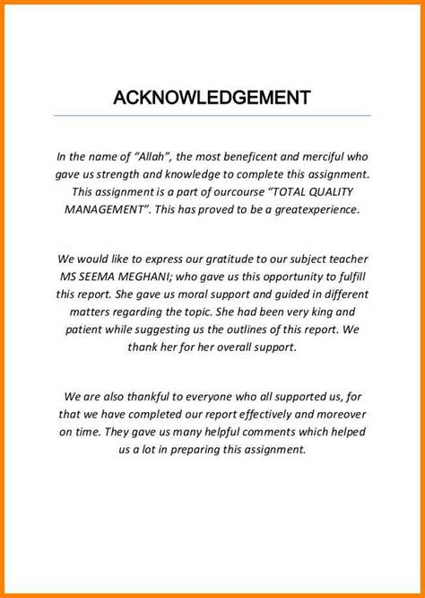 resume acknowledgement for assignment 28 images 6