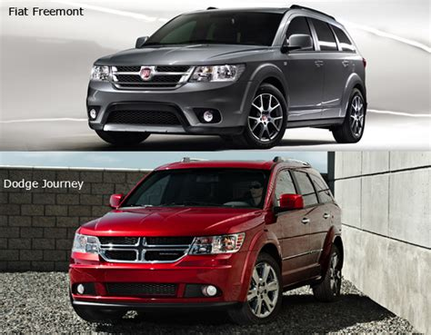 fiat freemont vs dodge dodge journey 2016 2017 2018 best cars reviews
