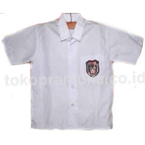 Baju Putih Pendek Sd No7 Baju Putih Sd Lengan Pendek Atasan