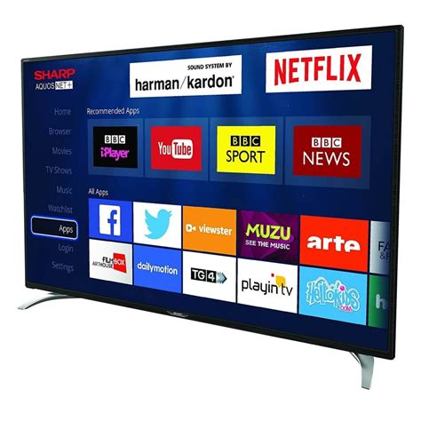 Tv Sharp Led 32 Inch sharp sharp 32 inch smart hd ready led tv with freeview