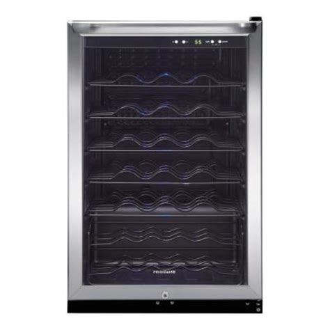 frigidaire 31 5 in 42 bottle wine cooler ffwc42f5ls the