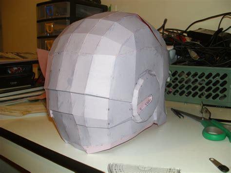 Iron Helmet Papercraft - iron helmet pepakura 4 by cyber on deviantart