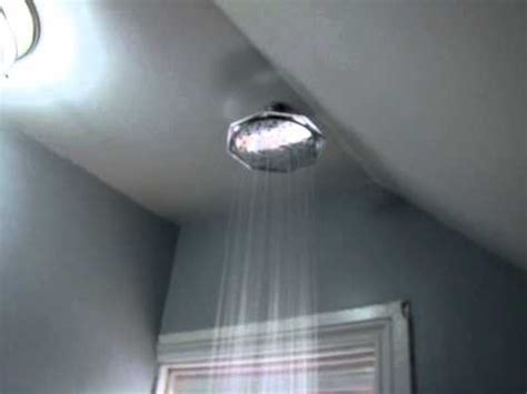 how to add a shower to a bathtub how to add a rainfall shower head to existing shower in
