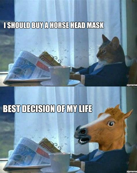 Horse Head Meme - prayer request so i got a ing horse page 2