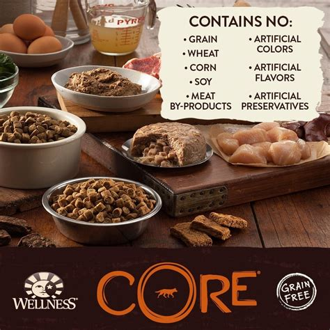 wellness grain free food wellness grain free canned food