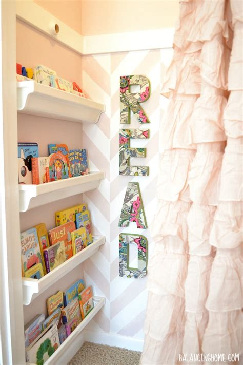 big room reading nook and cutting edge stencil
