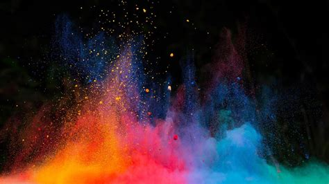 wallpaper powder multicolor dust explosion wallpaper wallpaper studio 10