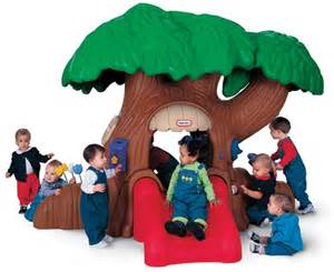 tree with a toddler preschool playground equipment preschool playgrounds