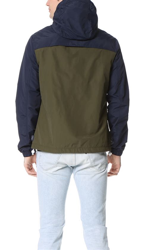 Jacket Parka 2 Tone penfield rochester 2 tone jacket in for lyst