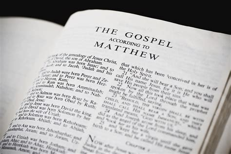 themes in the book of matthew introduction to the book of matthew