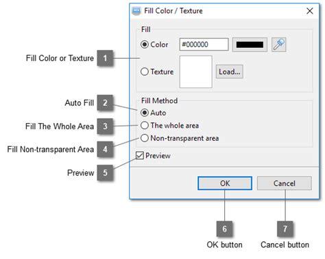 Texture Fill Dialog Digunakan Untuk | topic fill color texture dialog