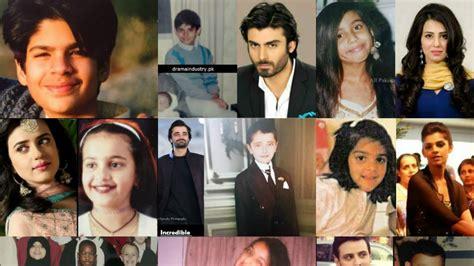 list of pakistani actors working in india pakistani celebrities childhood pictures youtube