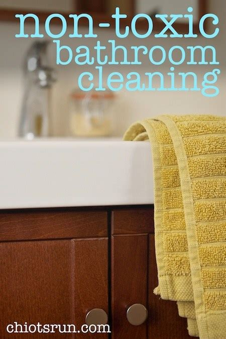 non toxic bathtub cleaner non toxic bathroom cleaning chiot s run