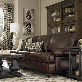 Bassett Living Room Furniture by Leather Living Room Set By Bassett Furniture